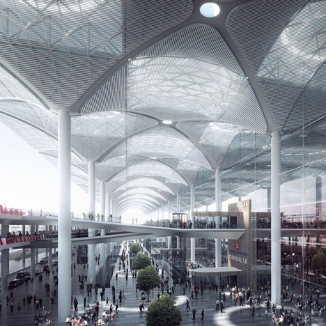 Pininfarina and AECOM win competition for air-traffic control tower at Istanbul New Airport