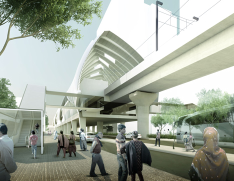 Dhaka's first metro line will be designed by John McAslan + Partners