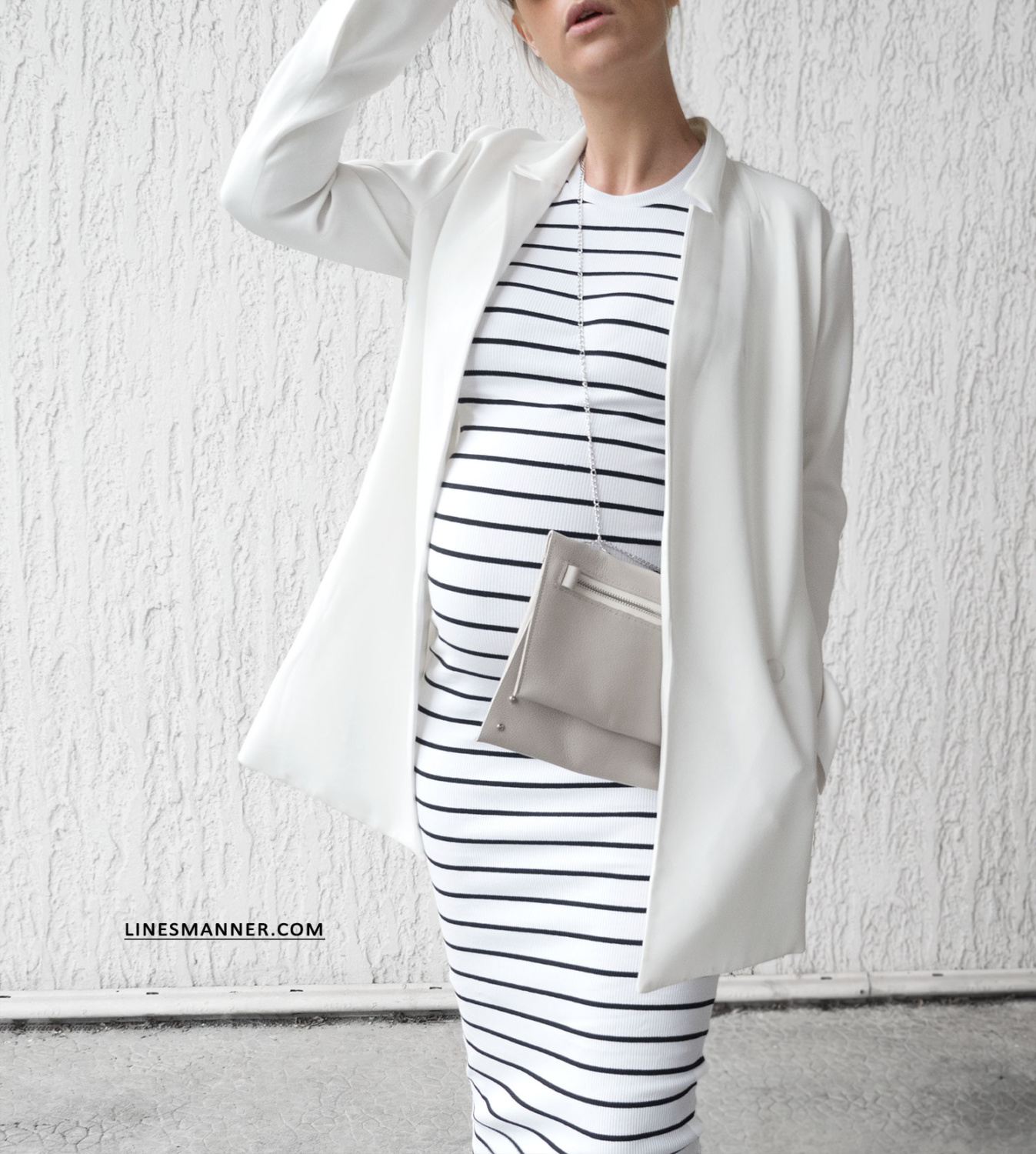 Striped  I Pregnancy Style