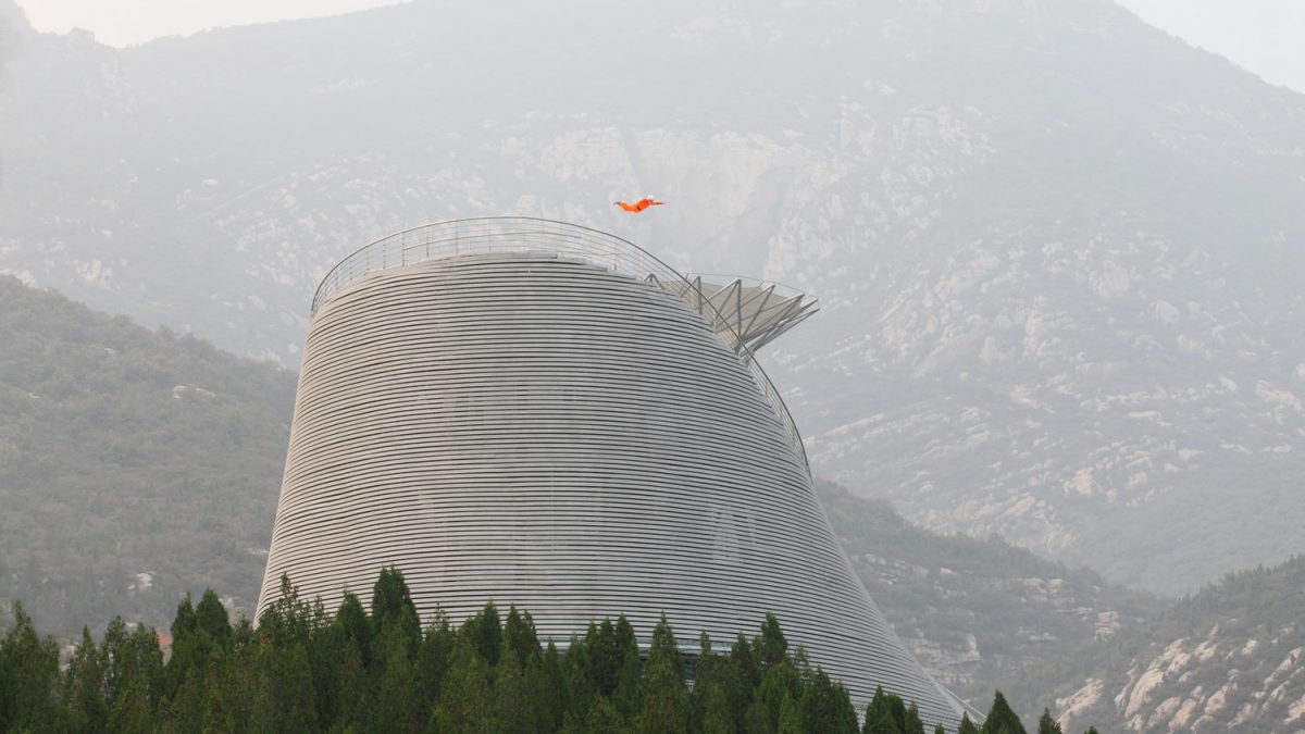 The Shaolin Flying Monks Temple By Mailitis Architects