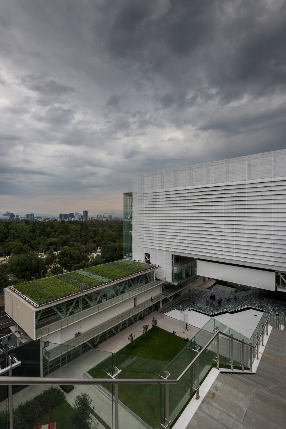 Enrique Norten completes new campus for Centro art and design school in Mexico City