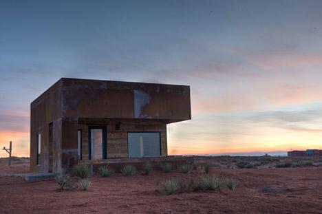 University graduates design and build cabins on Navajo reservation in Utah