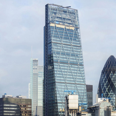 Steel bolt breaks off from Richard Rogers' Cheesegrater tower