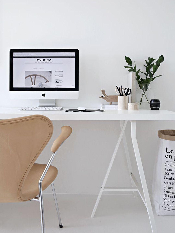 Scandinavian Home Office Minimal Blogs