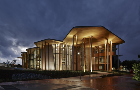 """Abedian School of Architecture by CRAB Studio was """"designed from the inside out"""""""