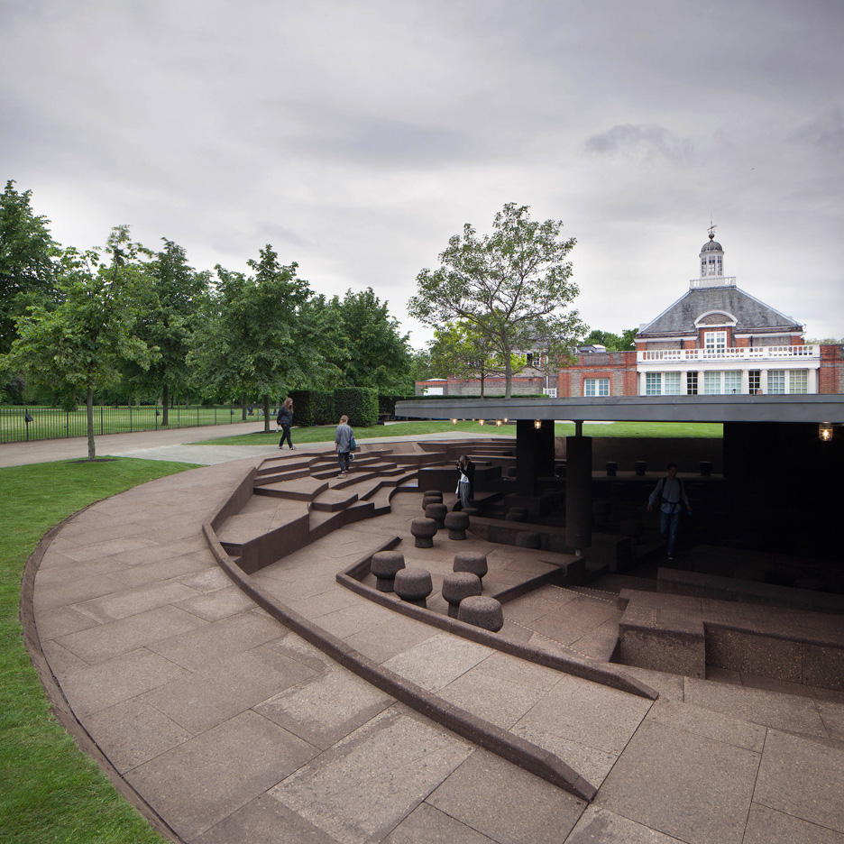 Herzog & de Meuron and Ai Weiwei's Serpentine Gallery Pavilion paid homage to its predecessors