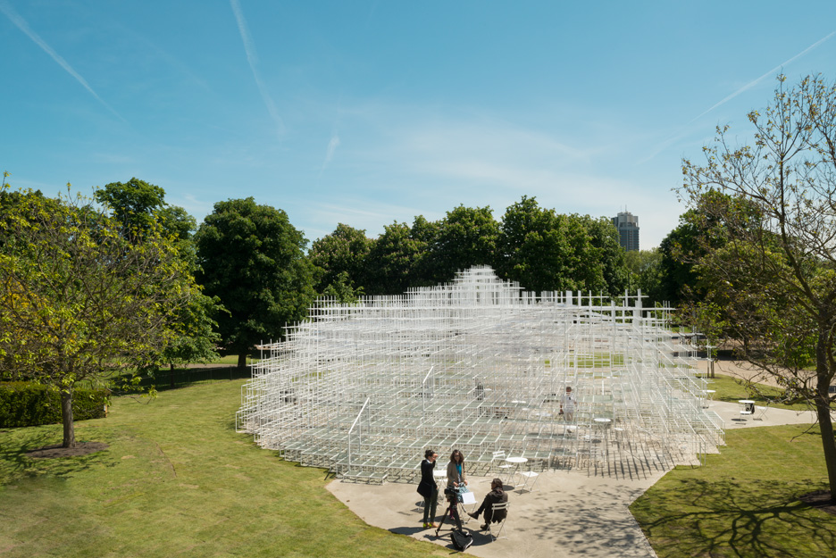 """Sou Fujimoto was considered """"a risk"""" for the 2013 Serpentine Gallery Pavilion"""