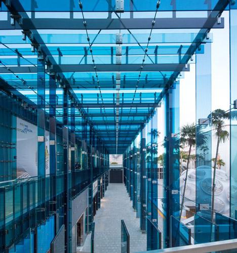 Sou Fujimoto's Palm Court retail complex completes in Miami