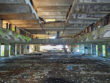 Brutalist seminary to be resurrected in 2015 after 25 years of neglect