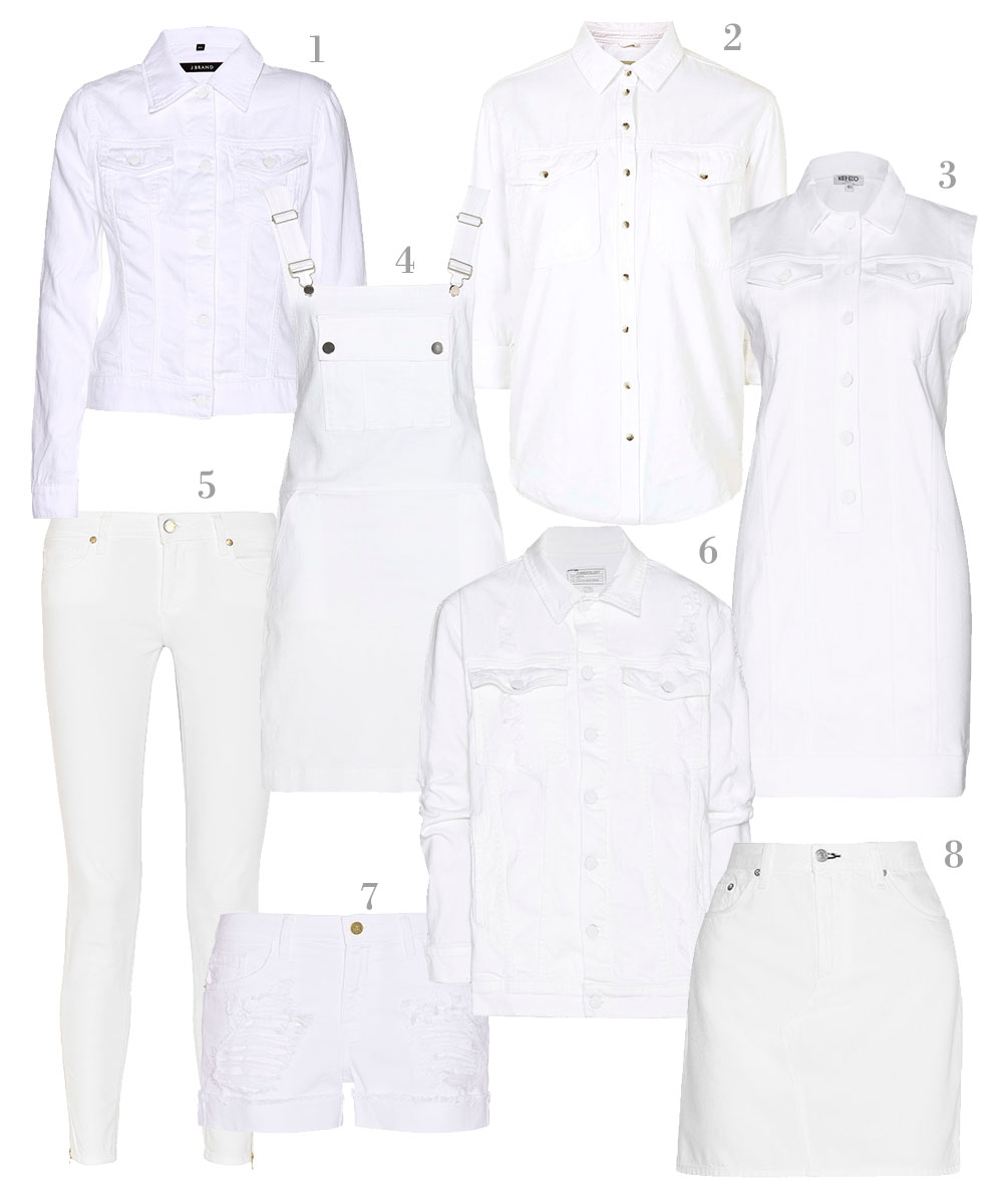 New White Denim For Spring