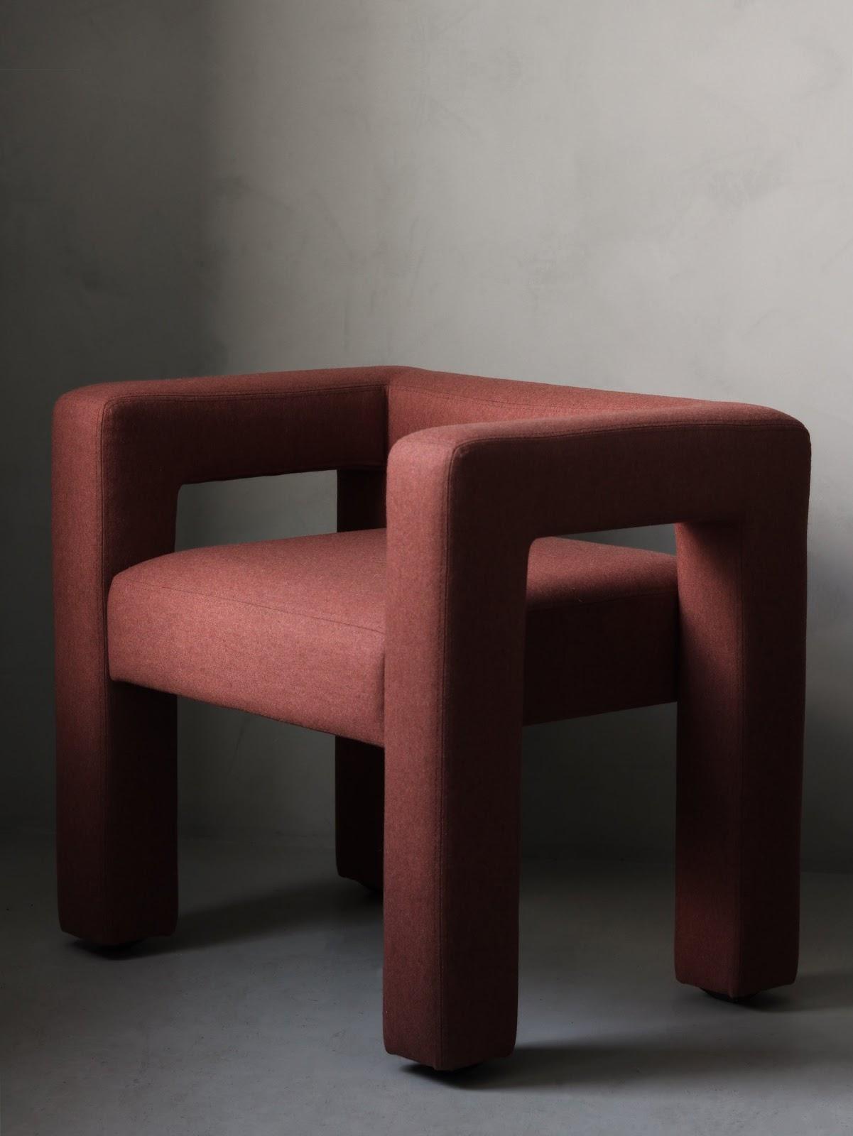 Faina's Toptun chair is perfect geometry