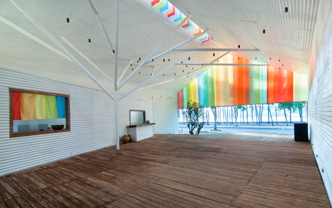 """The Chapel by a21studio is like """"a big colourful lantern"""""""