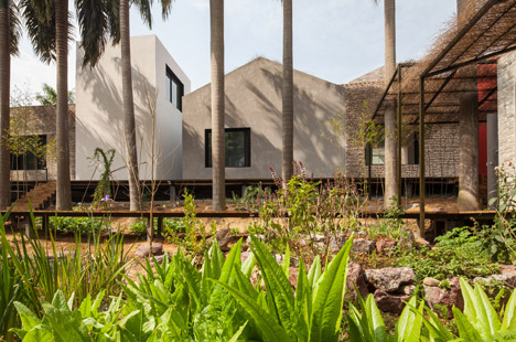 Sou Fujimoto uses seashells and thatching for village-inspired arts complex in rural China