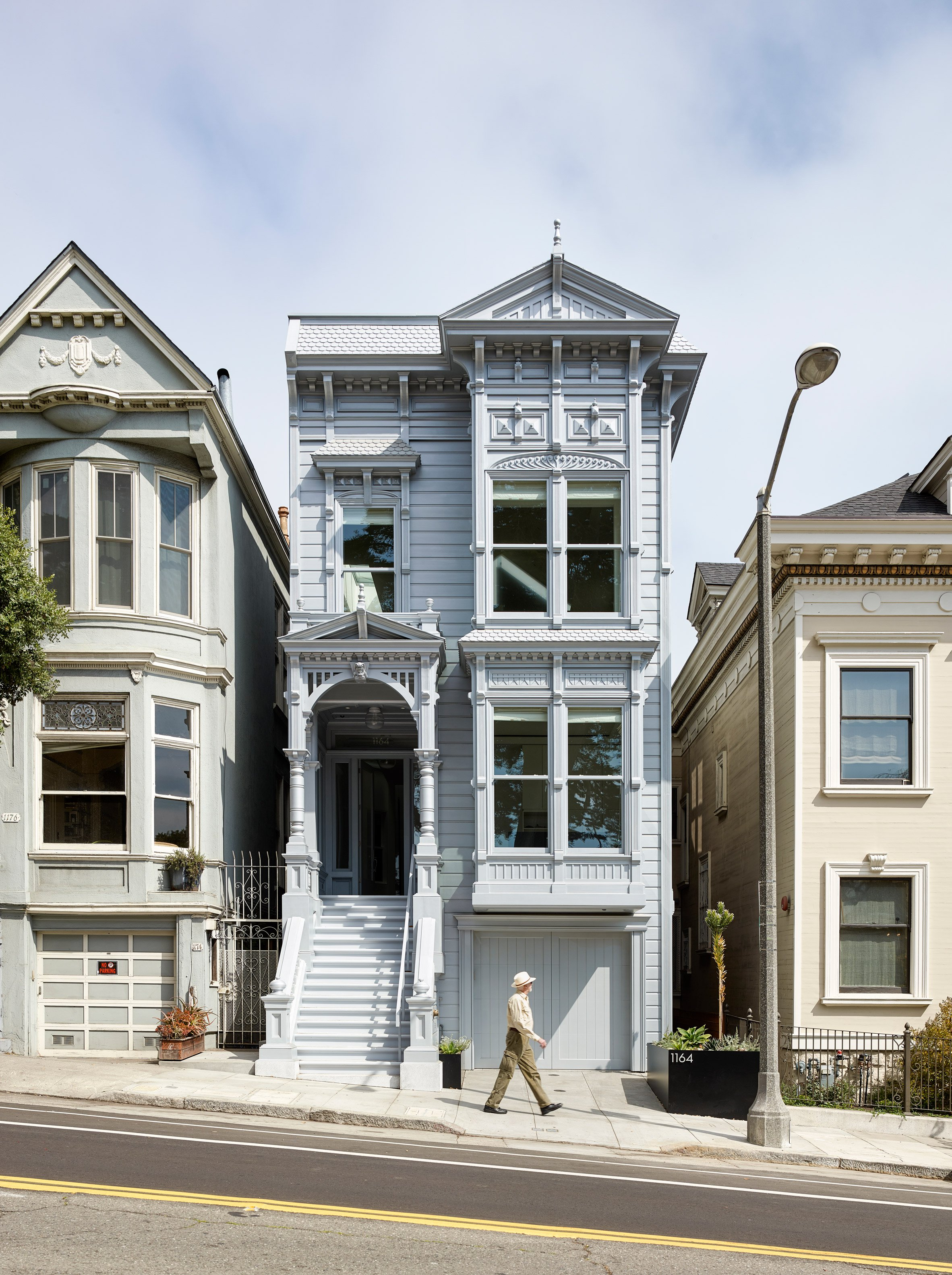 Jensen Architects adds contemporary rear facade and pared-down interiors to historic San Francisco house