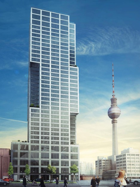 Designs submitted for Berlin's tallest skyscraper