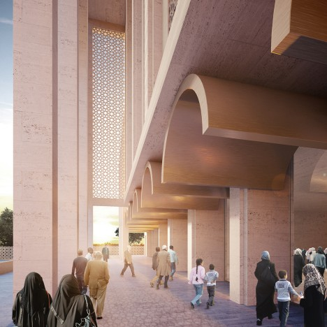 John McAslan to redesign Britain's largest mosque in south London