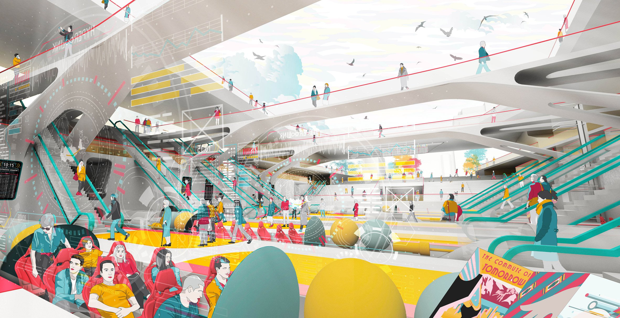 "Cassidy Reid devises Hyperloop network to ""make Europe great again"""