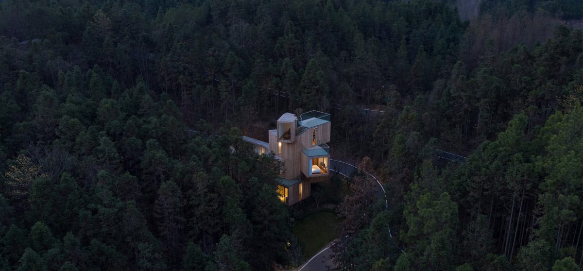 A Stacked Country Hotel In China Designed By Bengo Studio