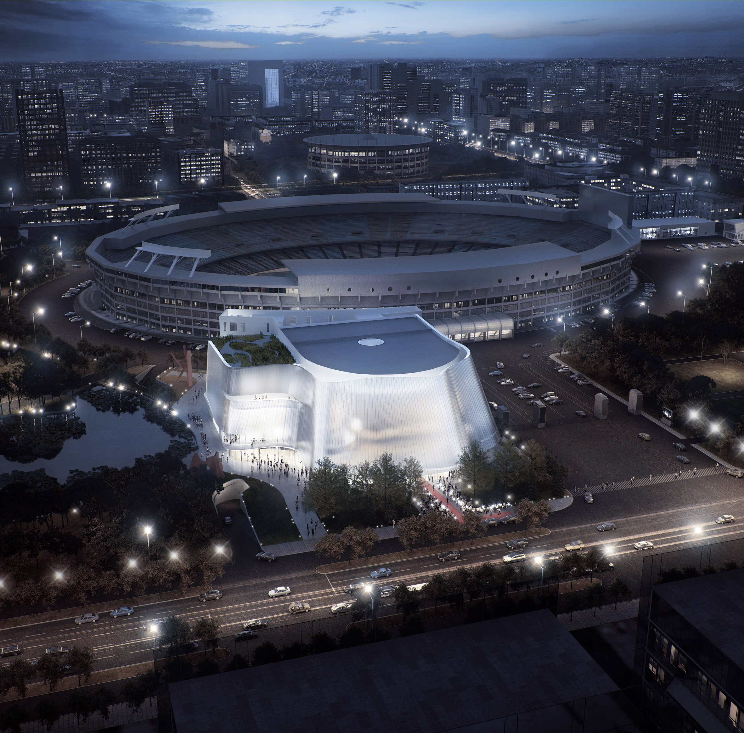 MAD reveals plans for translucent China Philharmonic Hall in Beijing