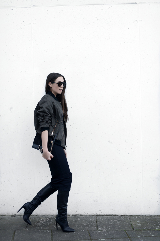 OUTFIT / THE BOMBER JACKET