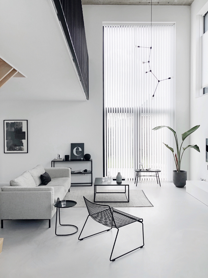 Project Dream House The Living Room Minimal Blogs