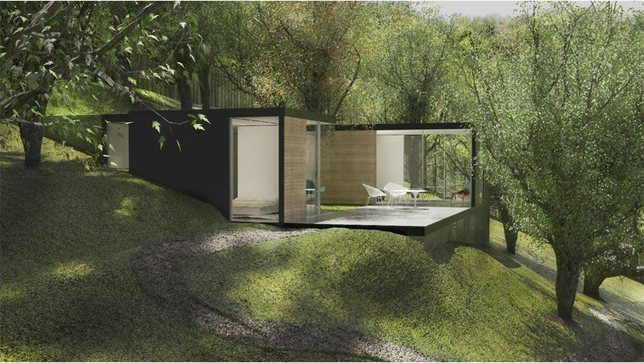 Cover uses computer algorithms to design prefabricated dwellings