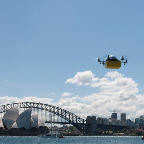 """Drones will bring """"profound change"""" change to architecture and cities, says Mark Dytham"""