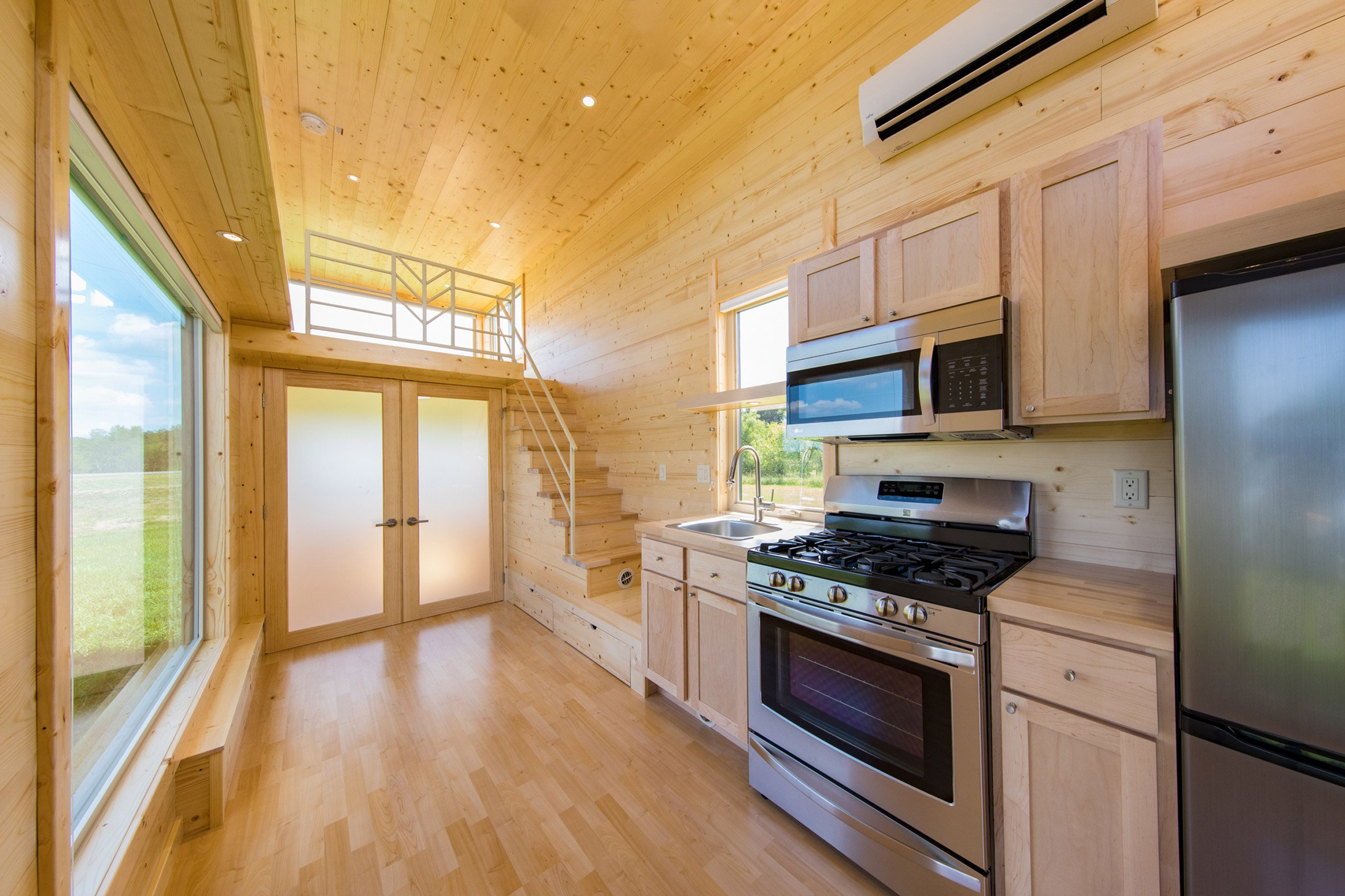 Escape One XL is a two-storey micro home on wheels