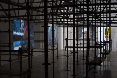Polish Pavilion curators campaign for better working conditions on building sites