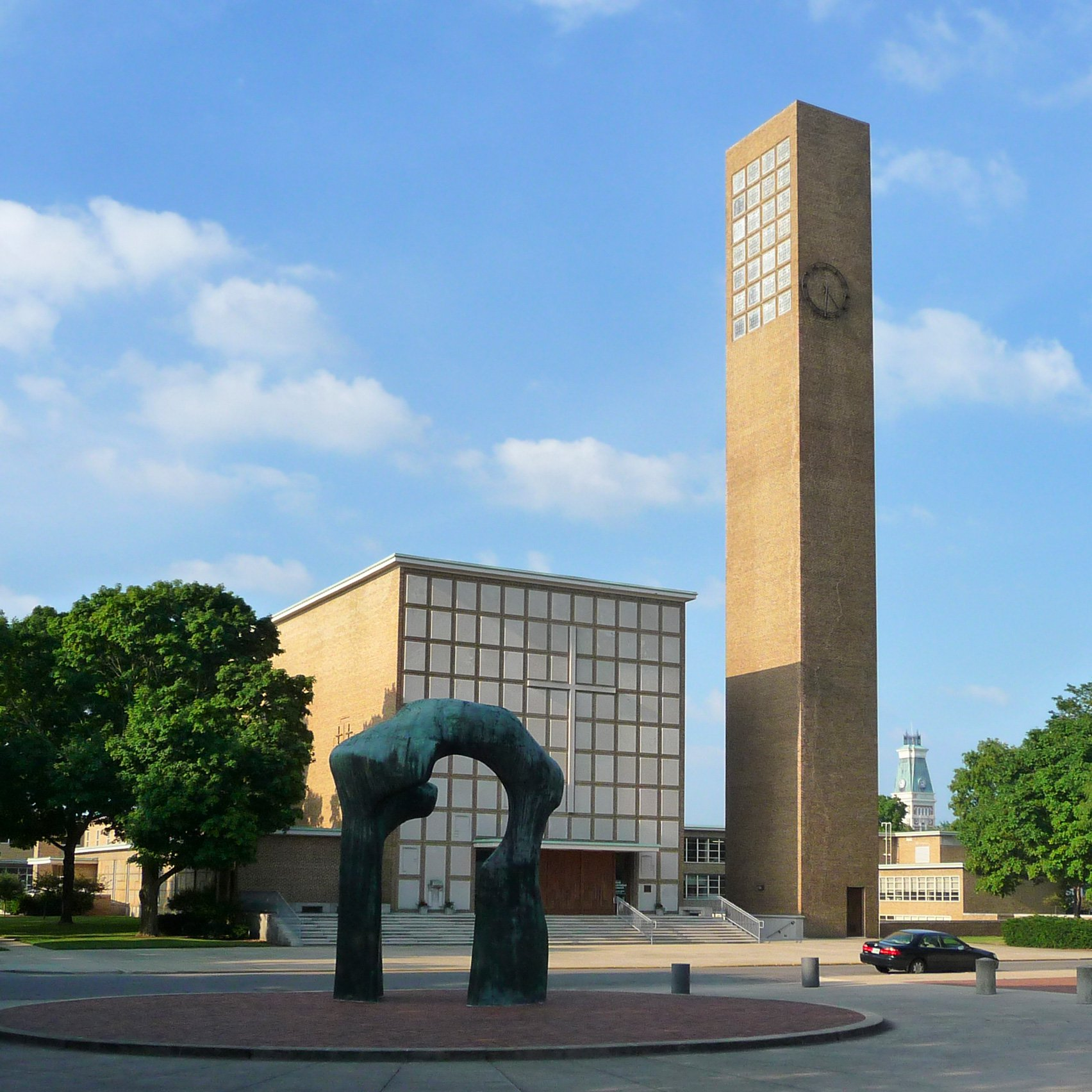 11 important modernist buildings in Columbus, Indiana
