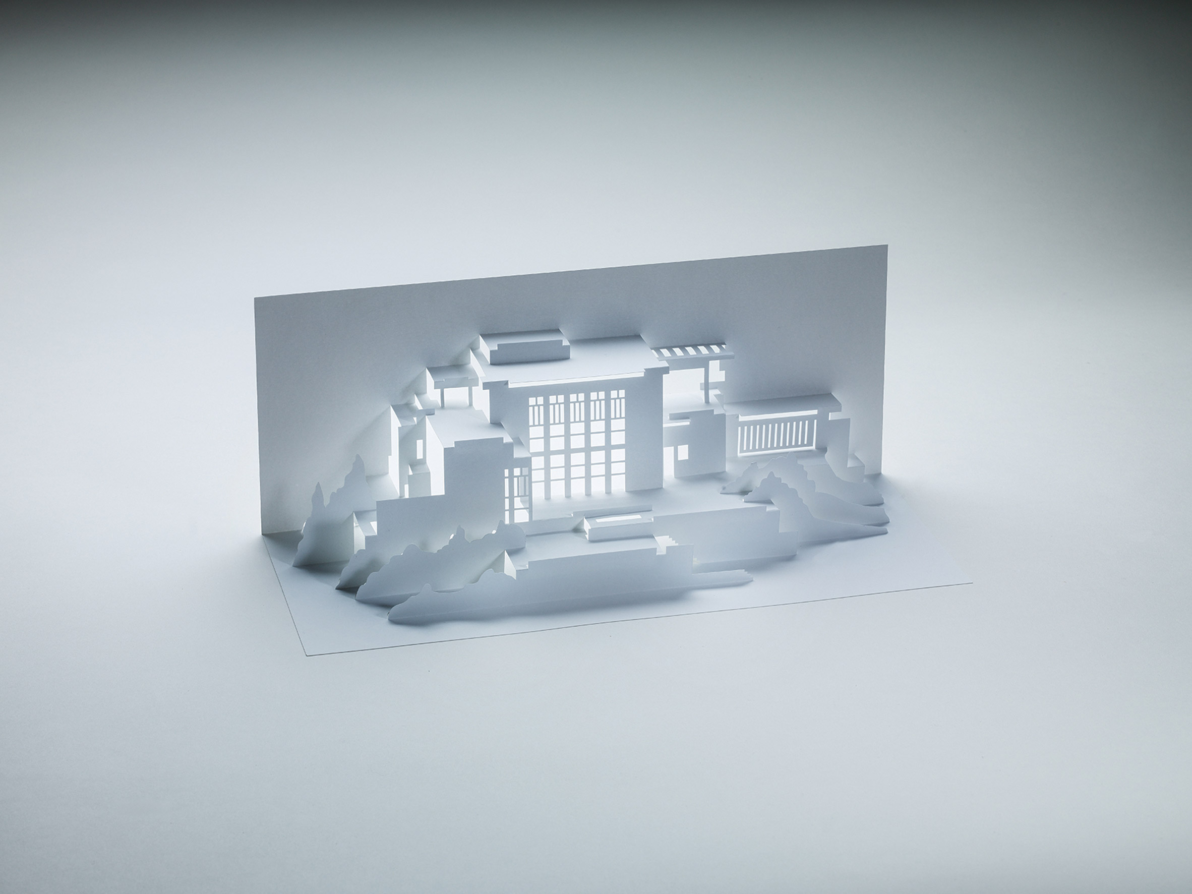 Competition: win a book exploring Frank Lloyd Wright's architecture through the art of kirigami