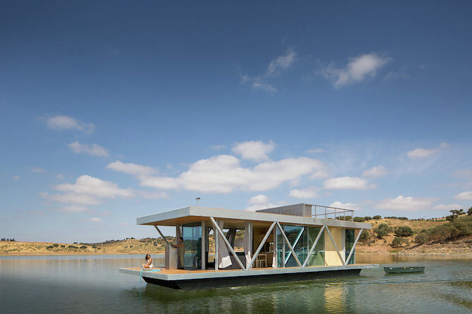 A Mobile Floating Home By Studio Friday
