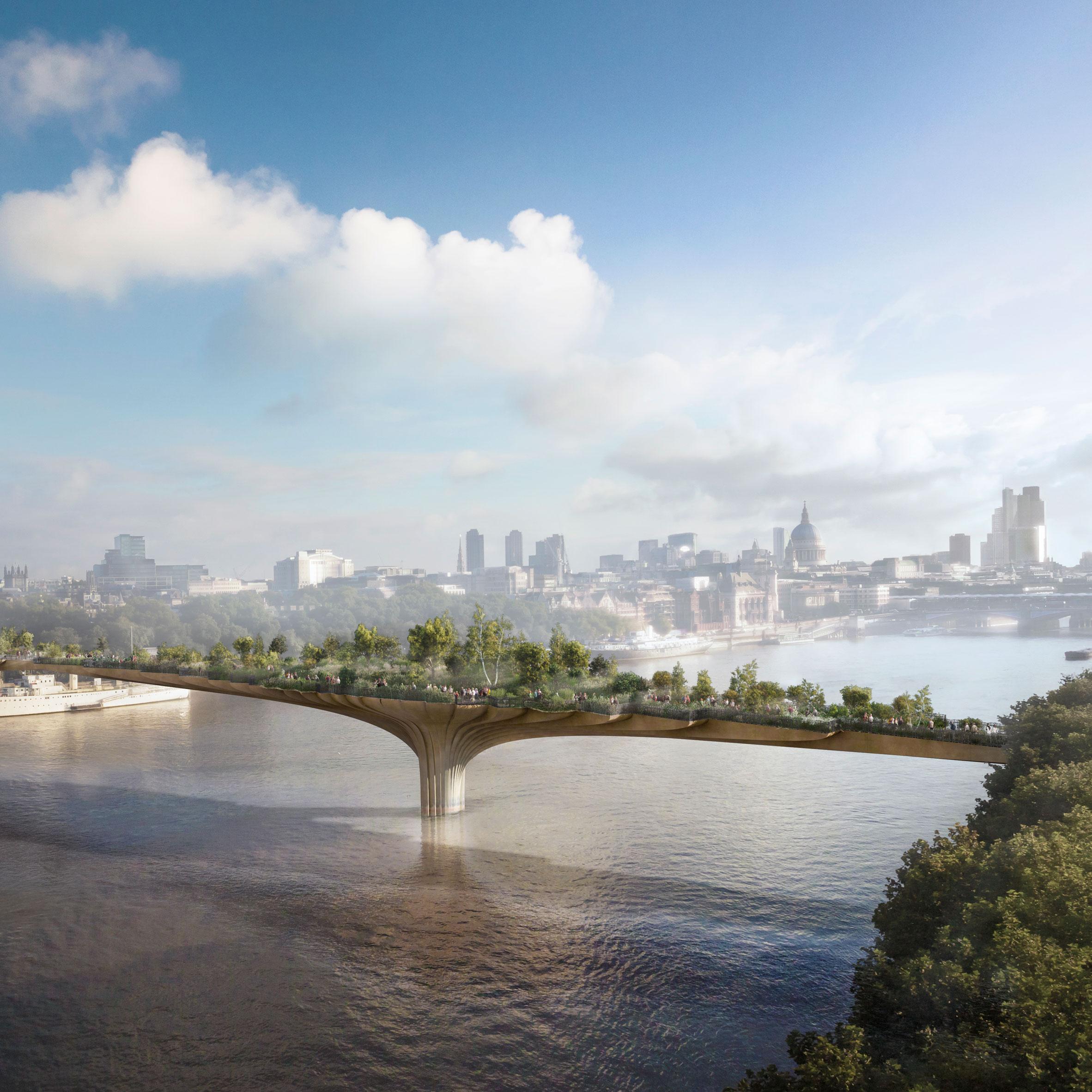 London mayor pulls plug on Garden Bridge
