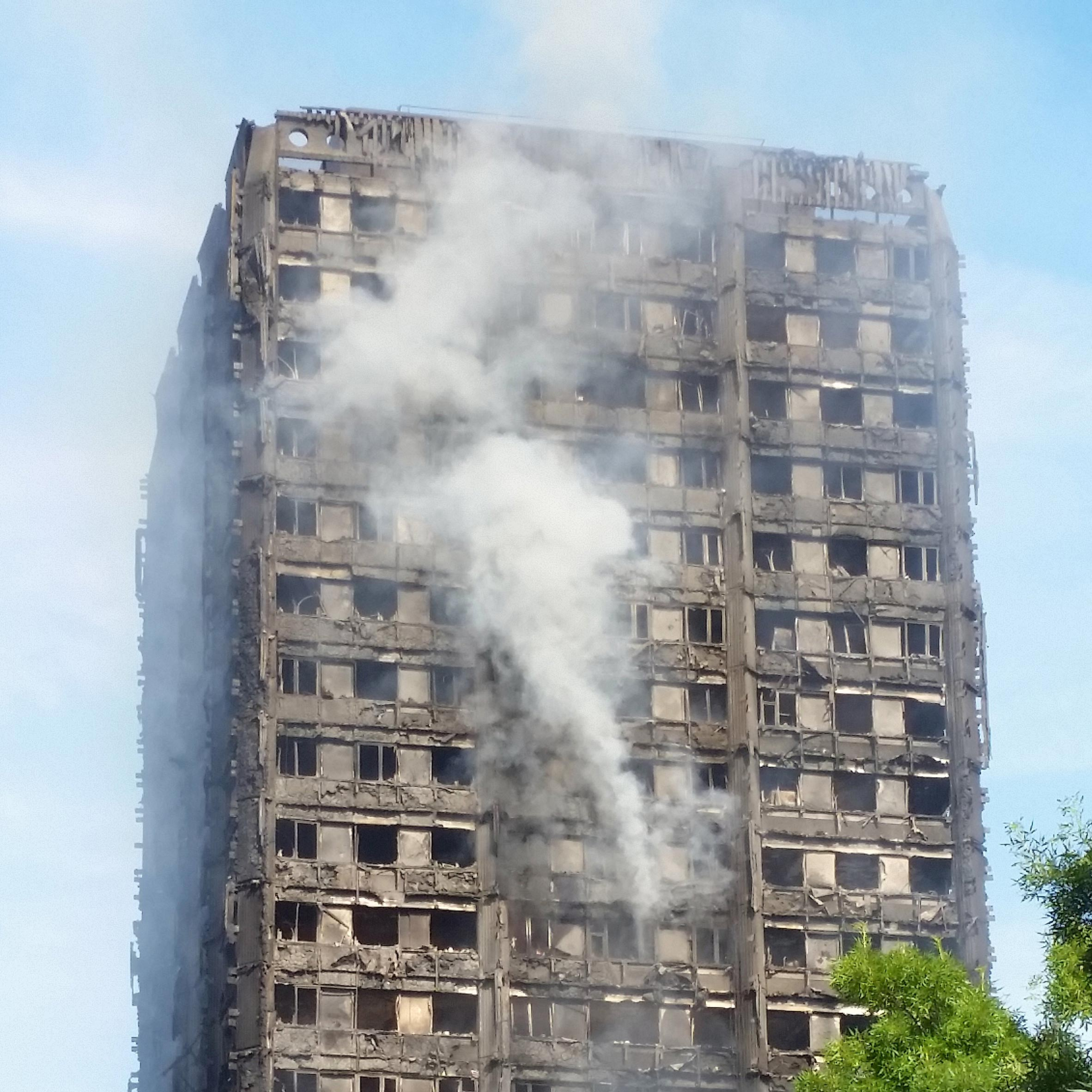 Grenfell Tower fire triggers emergency safety review across UK's 4,000 high-rises