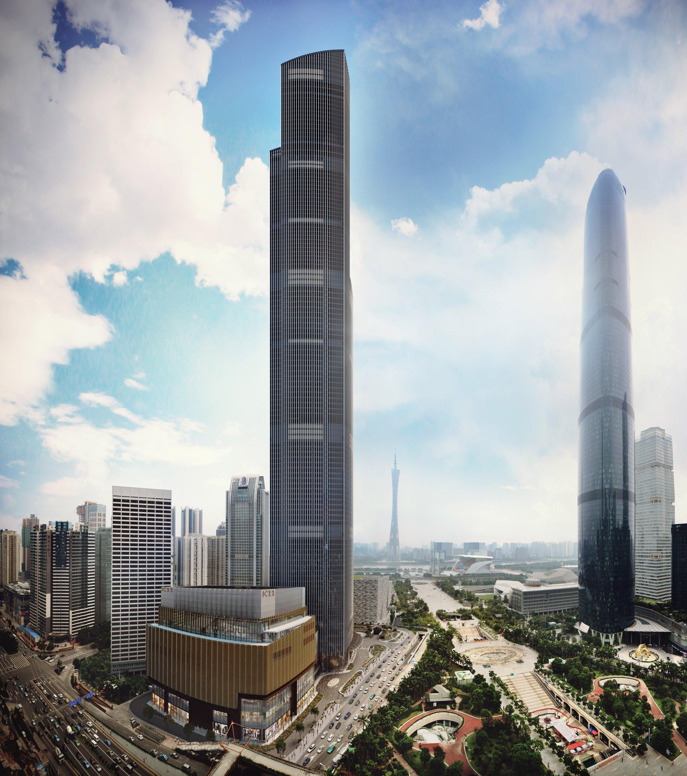 KPF unveils China's second-tallest skyscraper