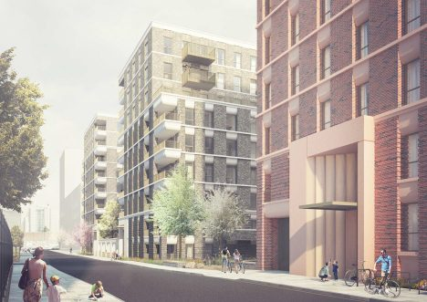 Replacement housing revealed for London's doomed Robin Hood Gardens