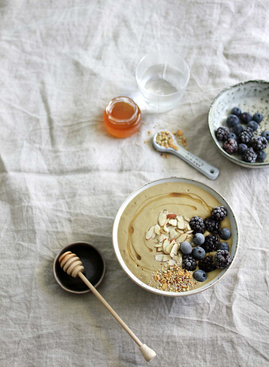 A favorite smoothie bowl that's a staple at home
