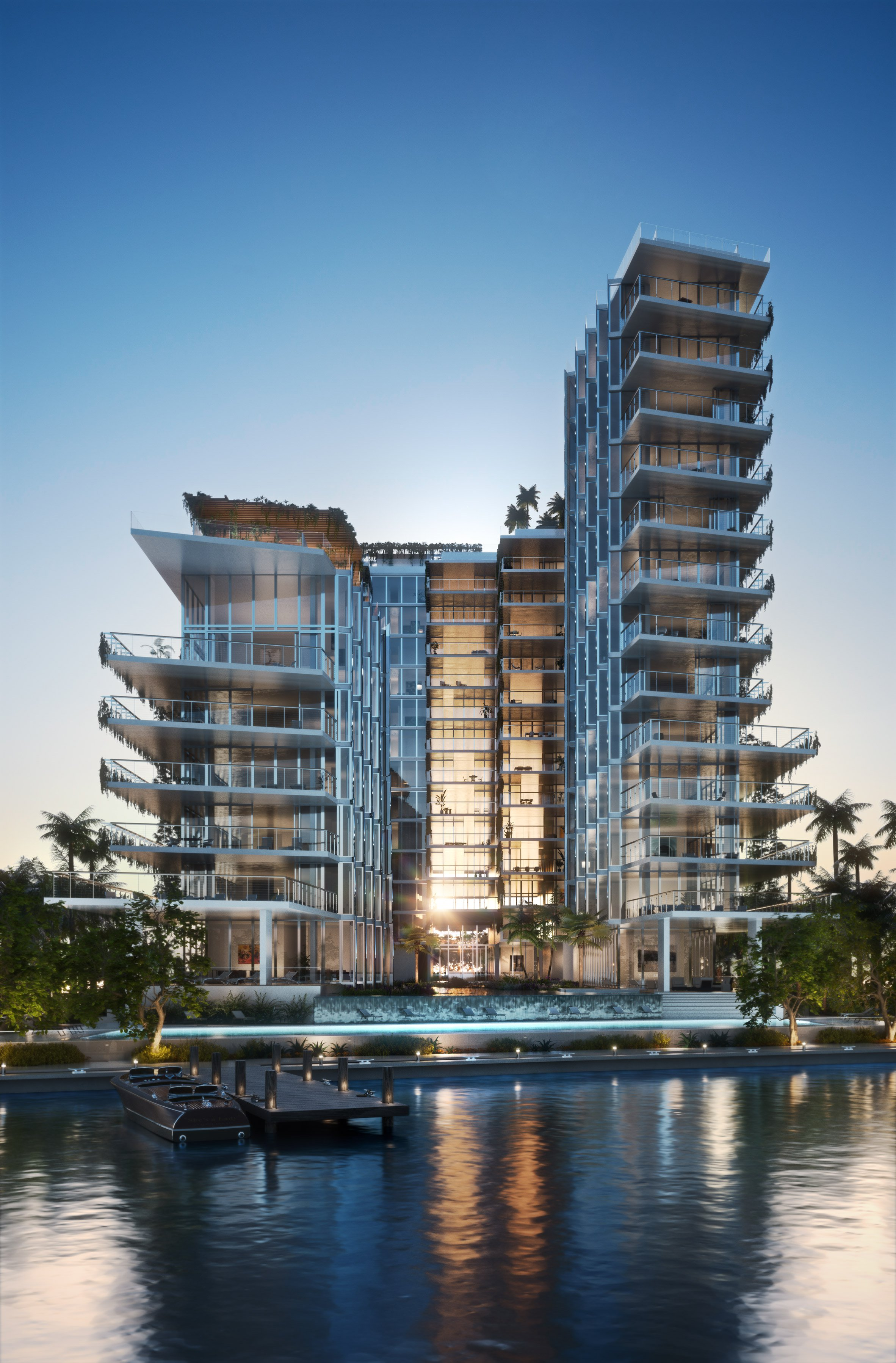 Jean Nouvel elevates Miami Beach residences to avoid rising sea levels