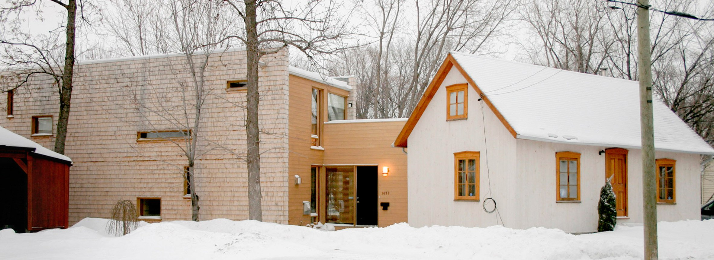 Atelier Pierre Thibault expands historic Montreal home to create writer's studio