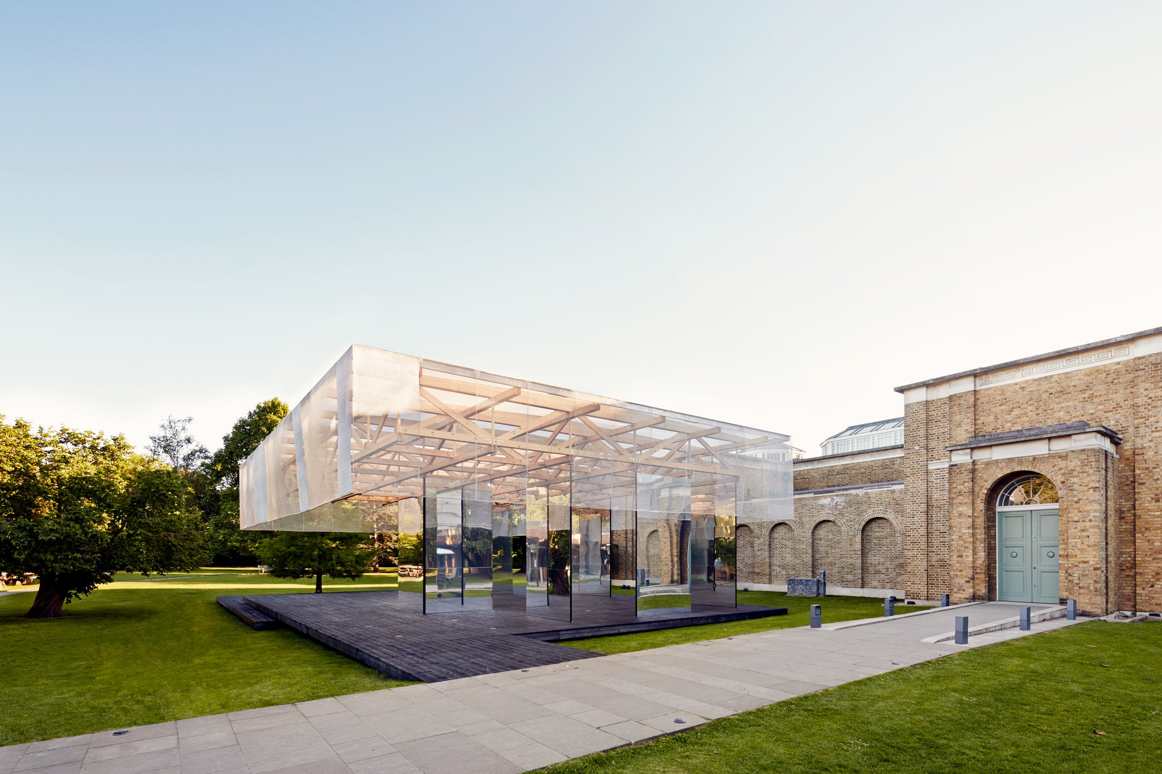 John Soane's Dulwich Picture Gallery informs summer pavilion for London Festival of Architecture