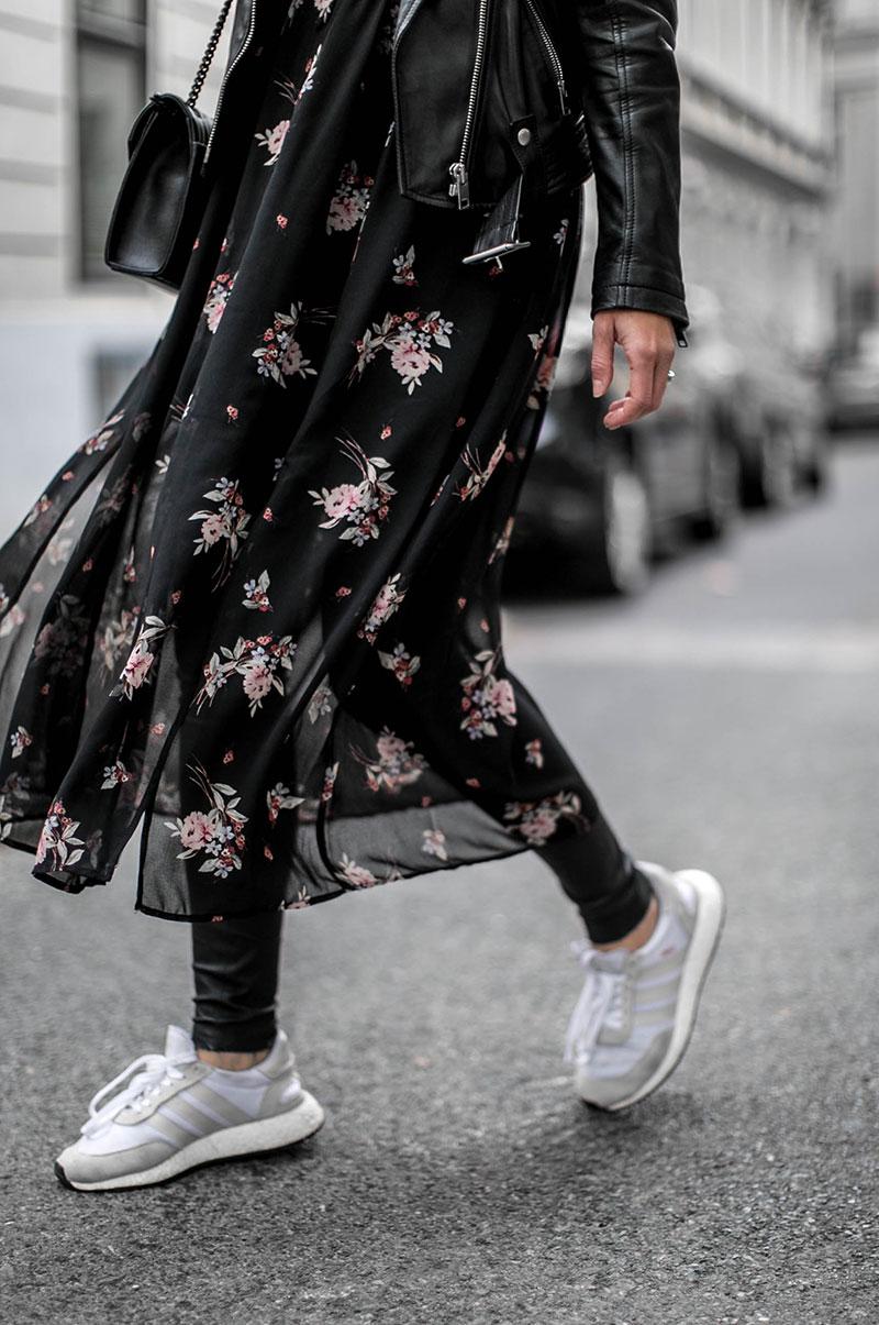 florals for winter, groundbraking – blumen maxikleid im winter