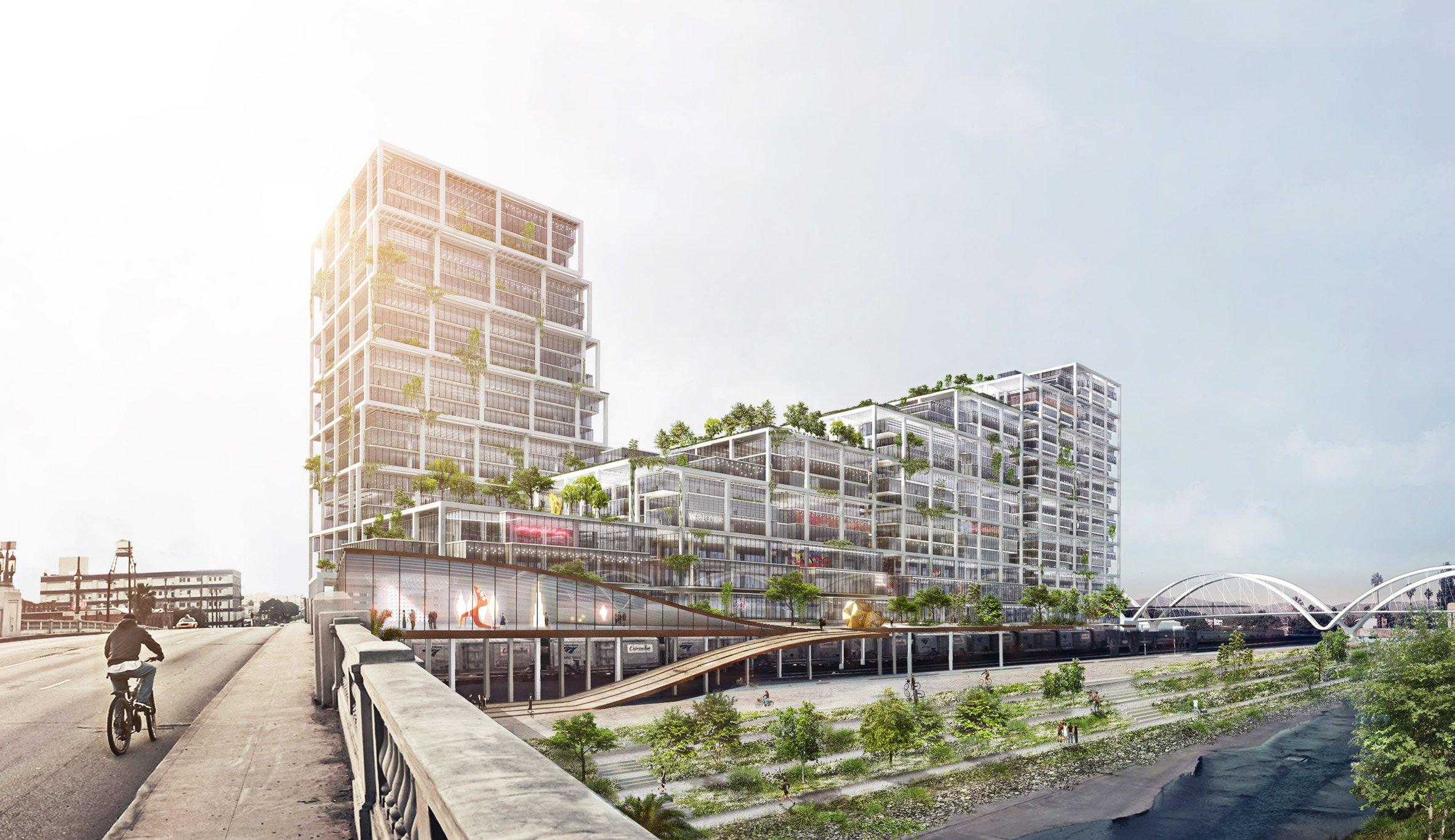 BIG unveils huge 670 Mesquit complex for LA Arts District