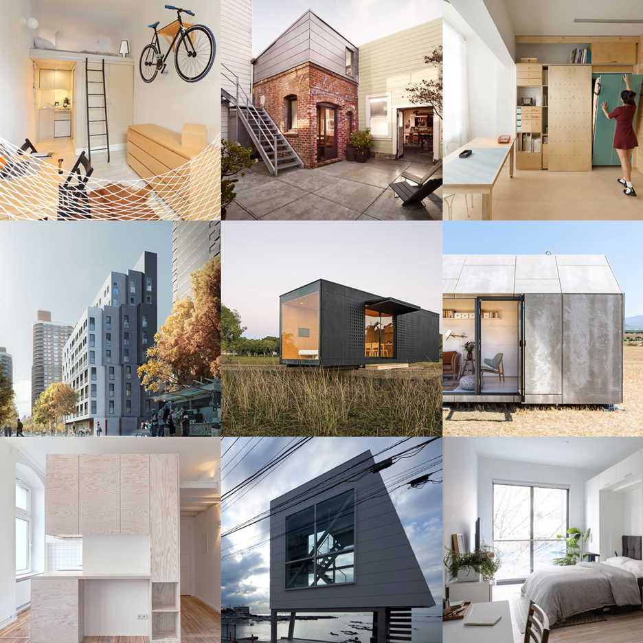 Our latest Pinterest board is crammed full of ideas for compact living