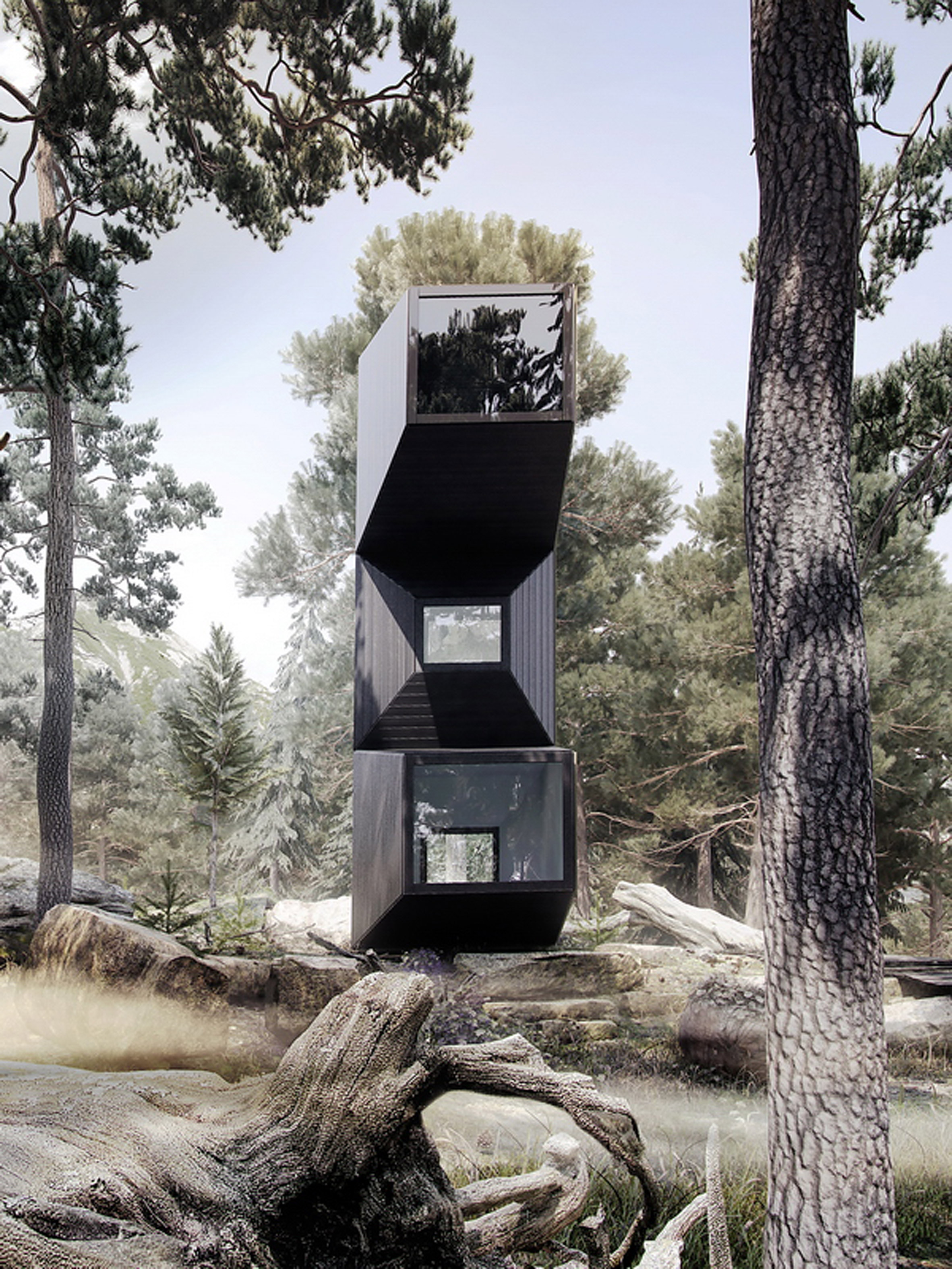 OFIS Arhitekti designs modular house suited for different terrains and climates