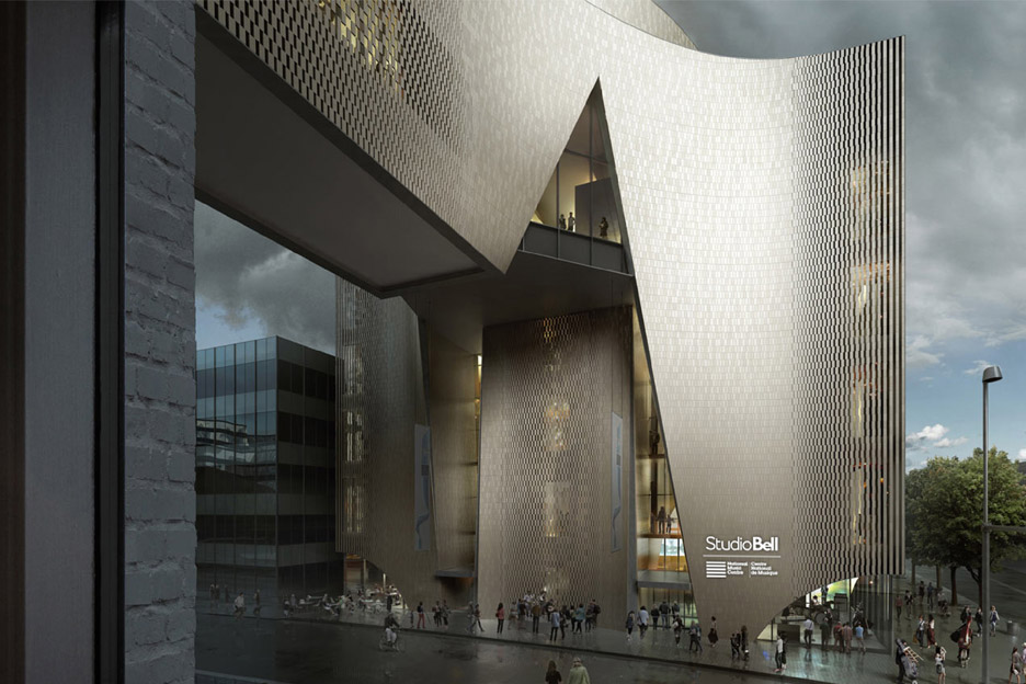 Massive music centre by Allied Works scheduled to open this fall in Calgary