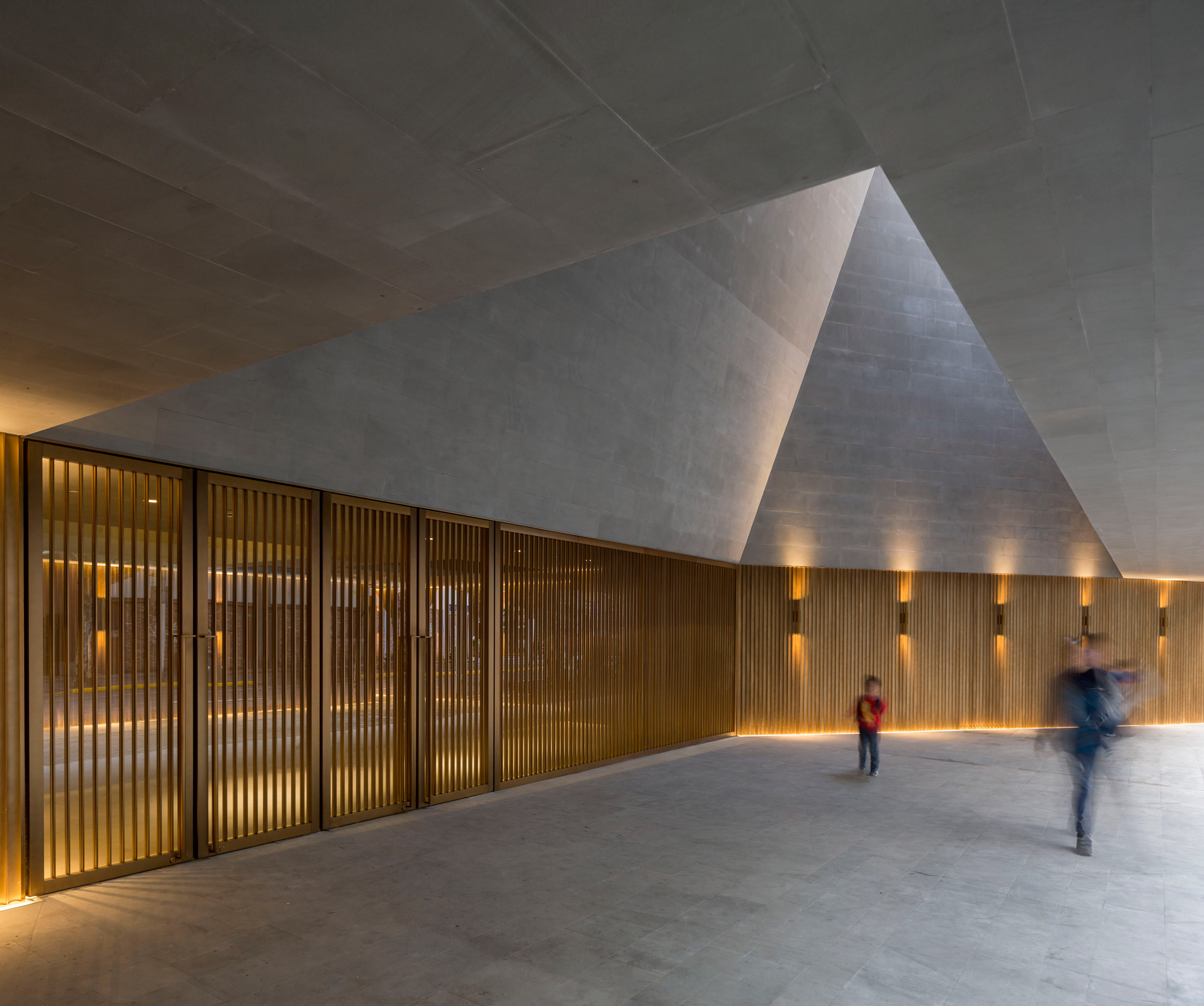 Neri&Hu revives 1930s Shanghai theatre with dramatic stone and bronze details