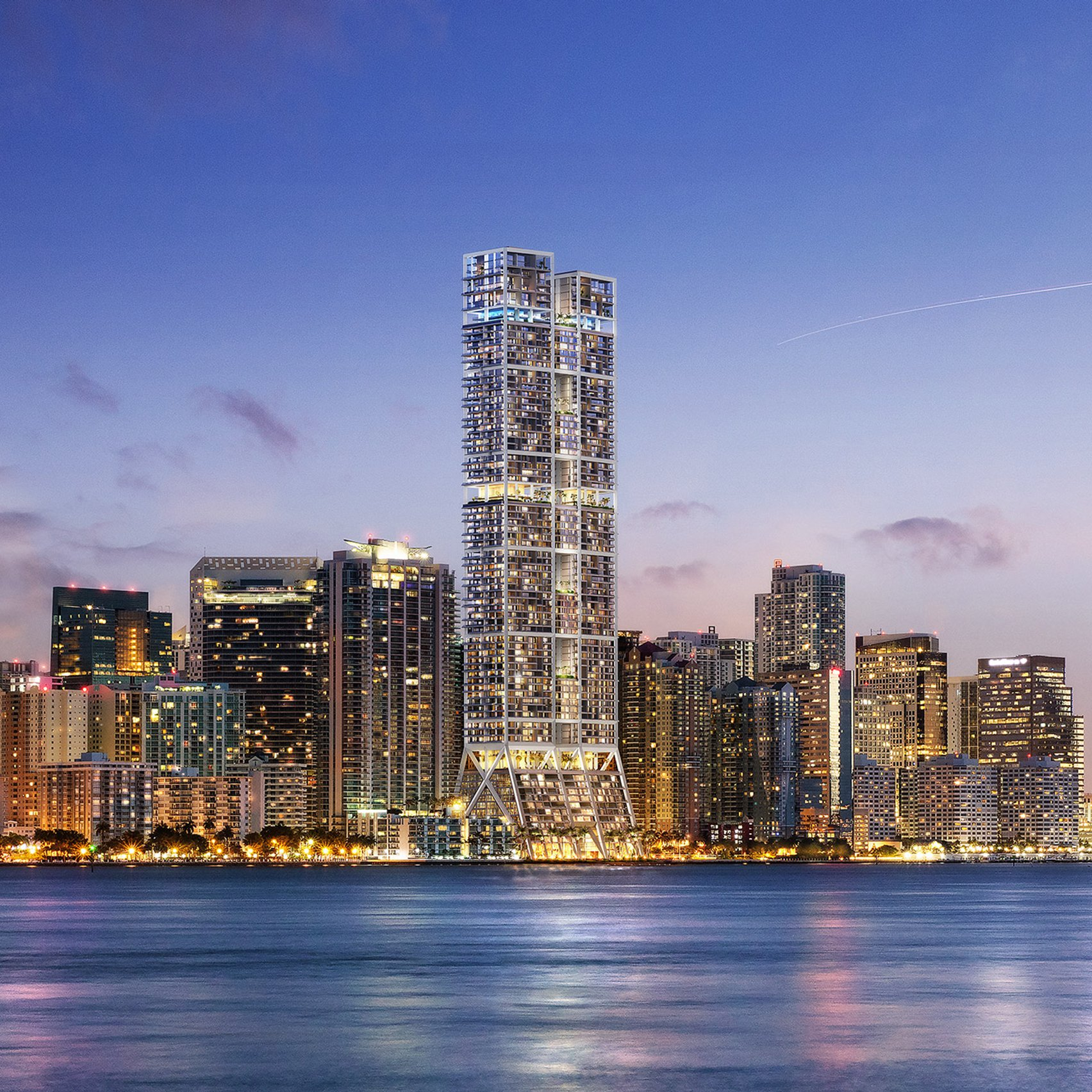 Eight new starchitect-designed apartment towers in Miami
