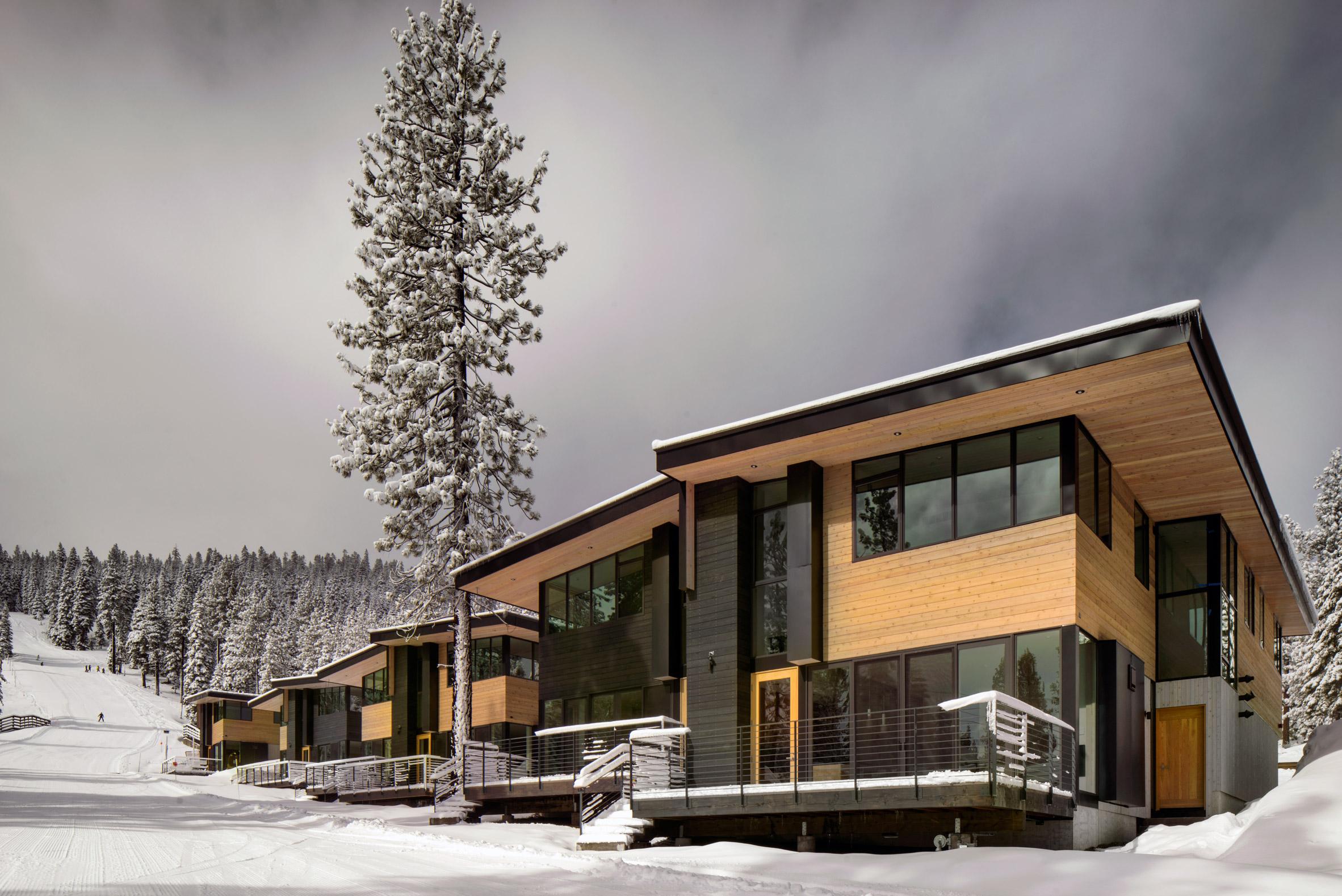 Bohlin Cywinski Jackson adds ski-in, ski-out homes to California mountain resort