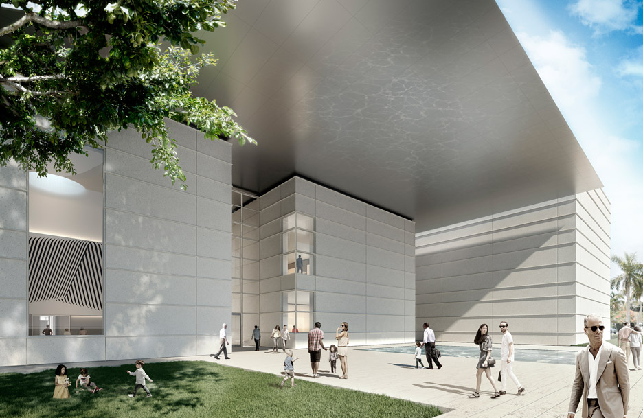 Works begins on Foster + Partners Norton Museum expansion in Florida's West Palm Beach