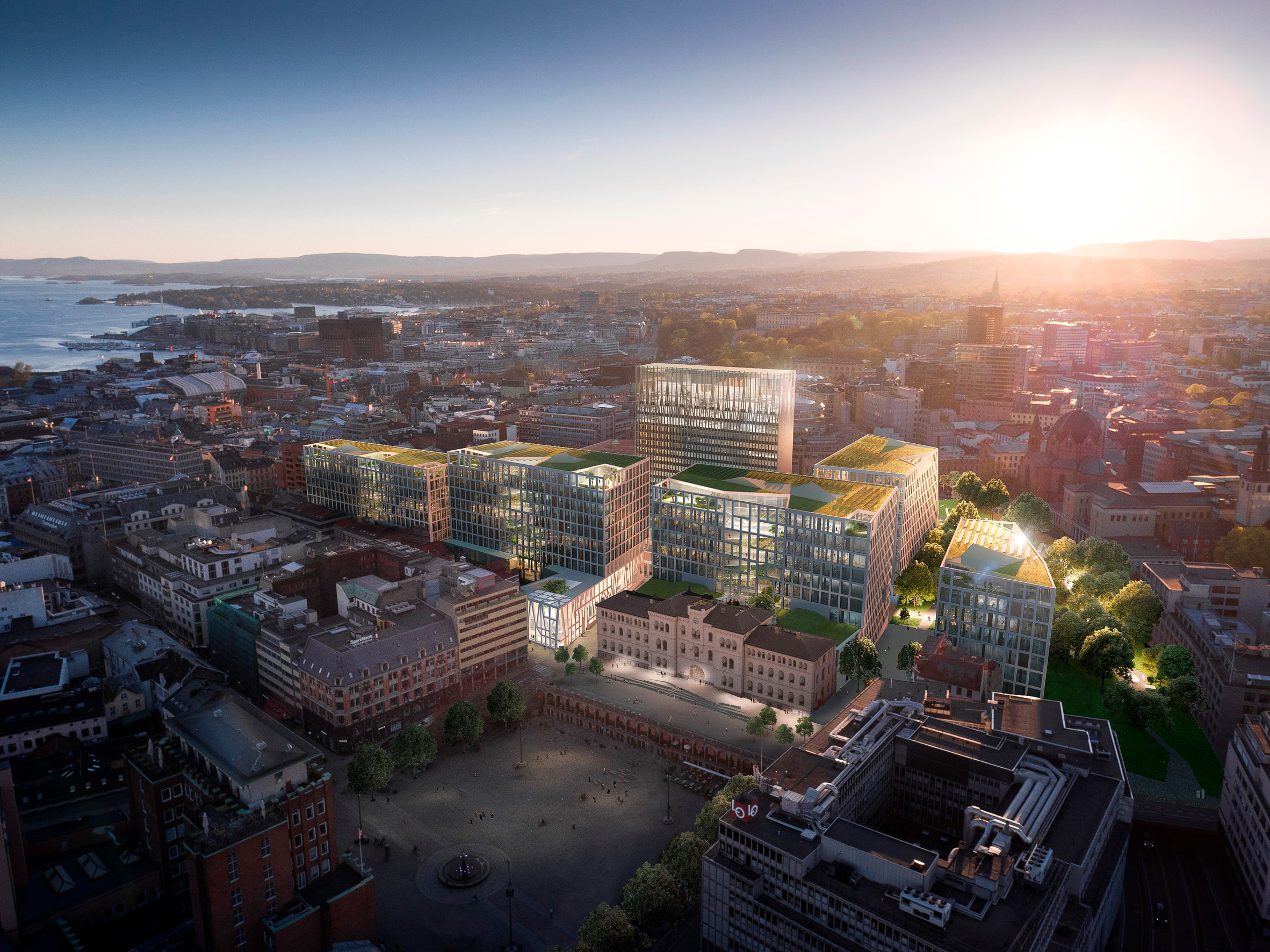 New designs unveiled for Norwegian government headquarters following 2011 terrorist attack